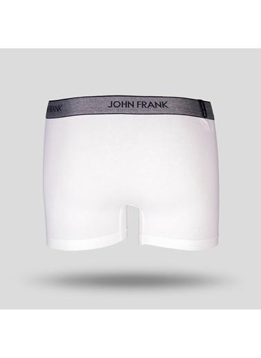 John Frank Boxer Beyaz